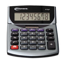 Innovera 15925 Portable Minidesk Calculator