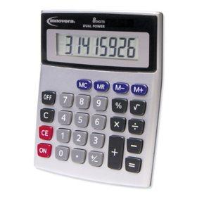 Innovera 15925 Portable Minidesk Calculator