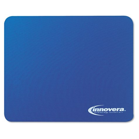 Innovera Natural Rubber Mouse Pad, Blue
