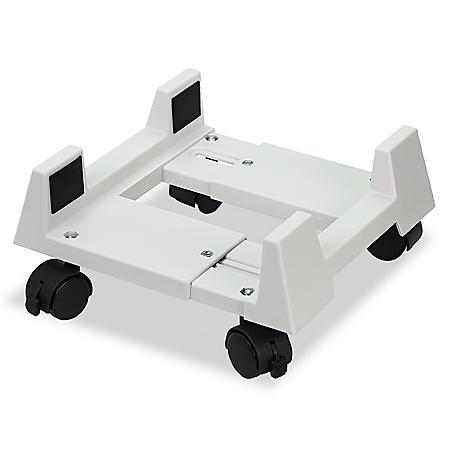 Innovera Mobile CPU Stand, Light Gray