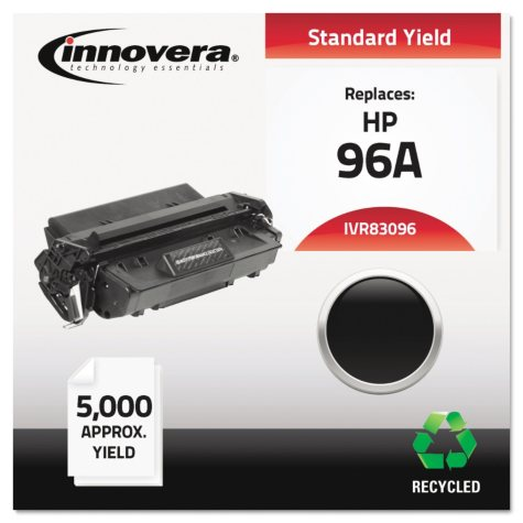 Innovera® Remanufactured C4096A (96A) Toner, Black