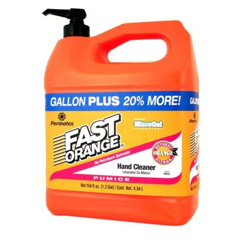 Permatex Fast Orange Pumice Lotion Hand Cleaner with Pump (1.2-Gal)