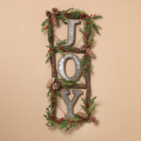 Natural Twig Door Wreaths (Set of 2)