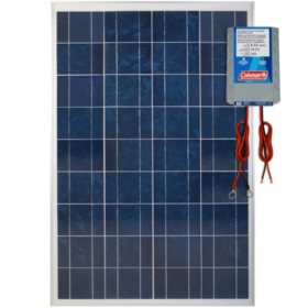 Coleman 100 Watt Crystalline Solar Panel with 8.5 Amp Charge Controller