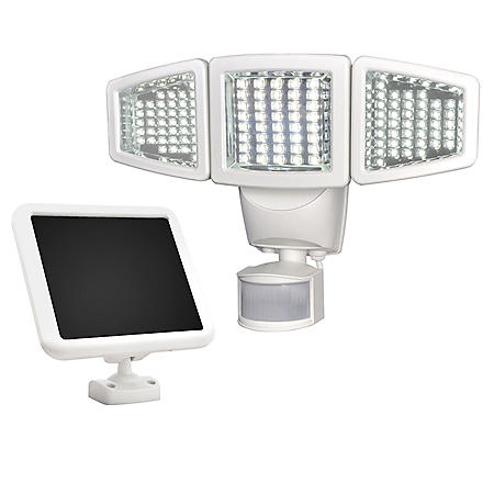 Sunforce 120 LED Triple-Head Solar Motion Light