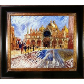 Pierre-Auguste Renoir The Piazza San Marco Venice Hand Painted Oil Reproduction