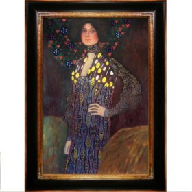 Gustav Klimt Emilie FlogeHand Painted Oil Reproduction