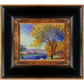 Claude Monet Antibes,View of Salis Hand Painted Oil Reproduction
