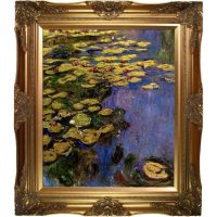 Claude Monet Water Lilies Hand Painted Oil Reproduction