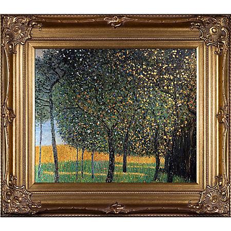 Gustav Klimt Fruit Trees Hand Painted Oil Reproduction