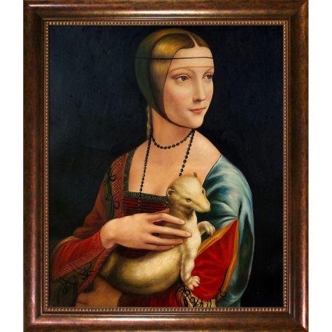 Hand-painted Oil Reproduction of Leonardo Da Vinci Mona Lisa