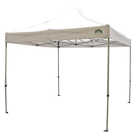 Caravan® Canopy Sports MonarchShade  10'x10' - White Instant Canopy