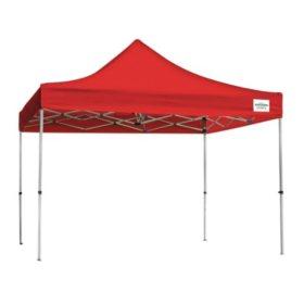Caravan® Canopy 10x10 Aluma Deluxe Kit Red Instant Canopy