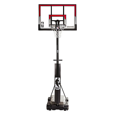 """44"""" Acrylic Ultimate Hybrid Jr. Quick Glide Portable Hoop System"""