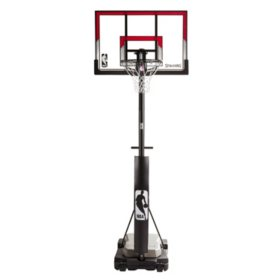 "44"" Acrylic Ultimate Hybrid Jr. Quick Glide Portable Hoop System"
