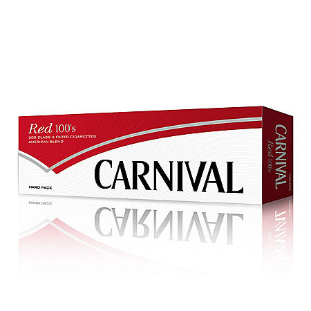 Carnival Red 100s Box (20 ct., 10 pk.)