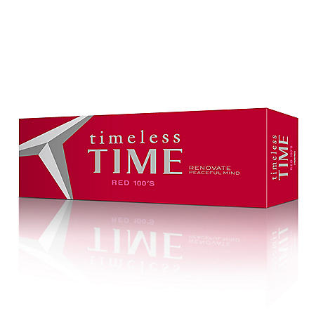 Timeless Time Red 100s Box (20 ct., 10 pk.)