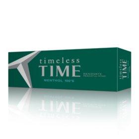 Timeless Time Menthol 100s Box (20 ct., 10 pk.)