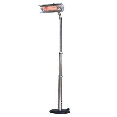 Mojave Sun Stainless Steel Telescoping Offset Pole Mounted Infrared Patio Heater