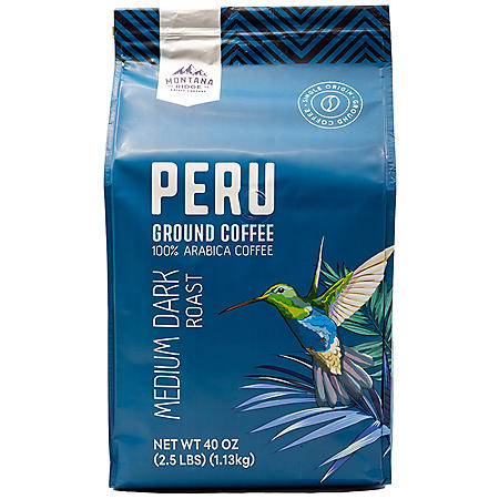 Montana Ridge 100% Arabica Peru Ground Coffee (40 oz.)