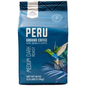 Mountain Ridge 100% Arabica Peru Ground Coffee (24 oz.)