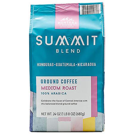 Montana Ridge Medium Roast Ground Coffee, Summit Blend (24 oz.)