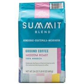 Montana Ridge Medium Roast Ground Coffee, Summit Blend (24 oz.)