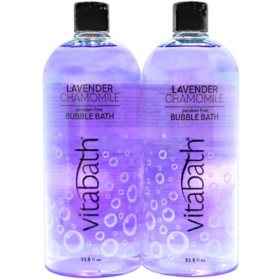 Vitabath Lavender Chamomile Bubble Bath (33.8 fl. oz., 2 pk.)