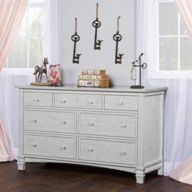 Evolur Santa Fe 7 Drawer Double Dresser (Choose Your Color)