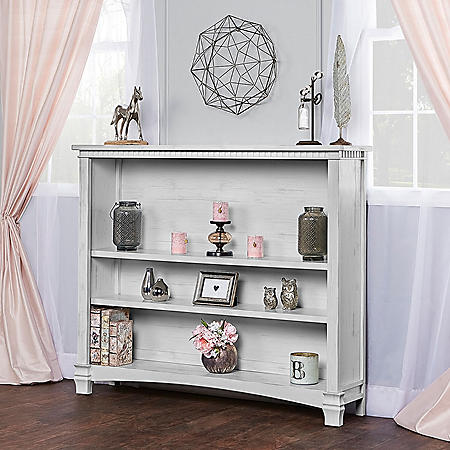 Evolur Cheyenne and Santa Fe Bookcase (Choose Your Color)