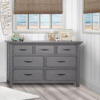 Evolur Belmar 7-Drawer Double Dresser (Choose Your Color)