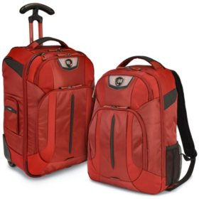 Traveler's Choice Cross Point 2-Piece Luggage Set