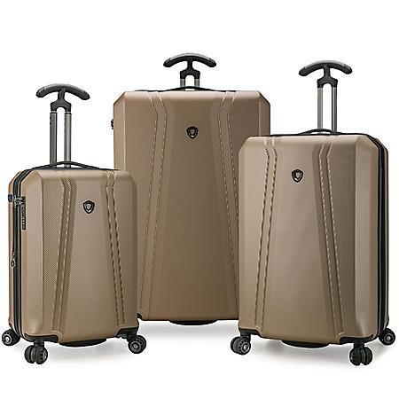 Traveler's Choice Zendy 3-Piece Hardside Spinner Luggage Set