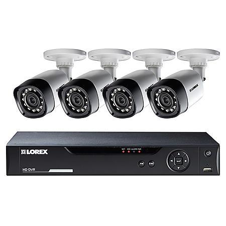 Lorex LHV00081TC4 8-Channel 1TB HD DVR Security System