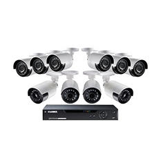 Lorex 16-Channel 1080p Surveillance System with 6x HD 1080p Bullet Cameras and 4x HD 1080p Ultra-Wide FOV Cameras