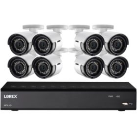 Lorex 8 Channel 1080P HD Security System With 1TB DVR Camera