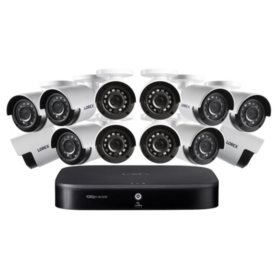 Lorex 16 Channel 1080P Surveillance System with 2TB HDD and 12 x Cameras