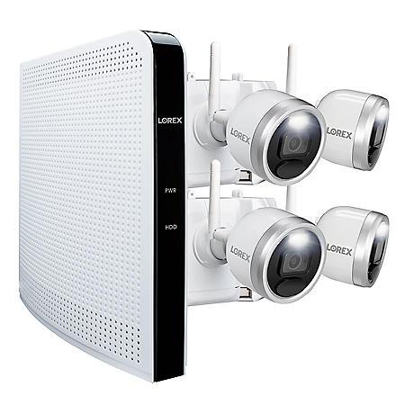 Lorex 4 Camera 1080p HD Wire-Free Security System