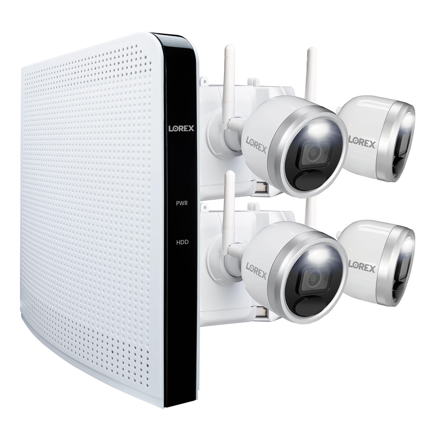 Lorex 4 Camera 1080p HD Wire-Free Security System