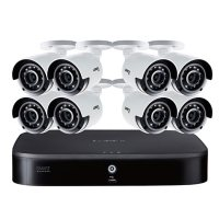 Lorex 4K ULTRA HD 8-Channel DVR and Eight 4K Ultra HD Security Camera with Color Night Vision