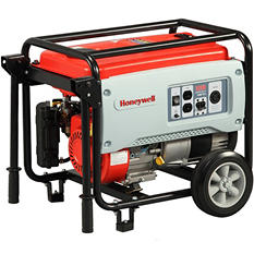 Honeywell 3,250W / 3,750W Portable Gas Powered Generator w/ Pull Start
