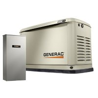 Generac Guardian Series WIFI Enabled 22,000-Watt (LP) / 19,500-Watt (NG) Standby Generator with Automatic Transfer Switch
