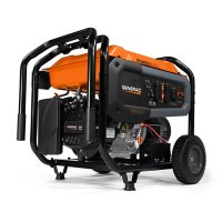 Generac GP8000E 8,000W / 10,000W Portable Generator with Electric Start