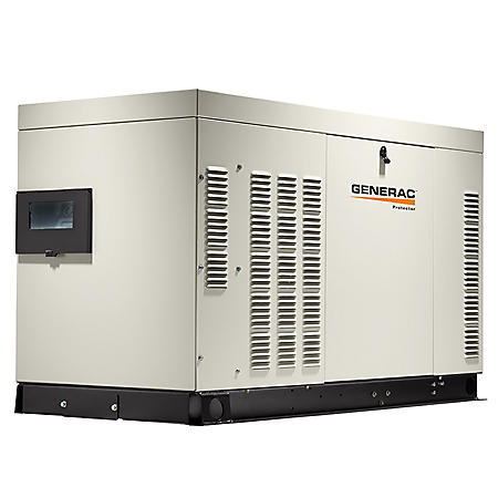 Generac Protector Series 27,000W Natural Gas or Propane Home Standby Generator