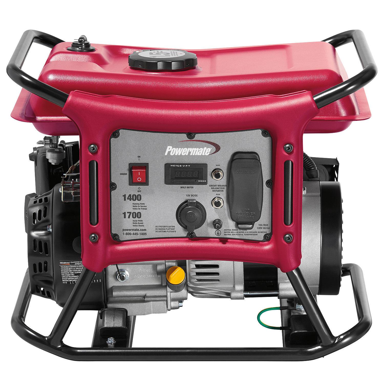 Powermate PC0141400 CX Series 1400W Portable Generator