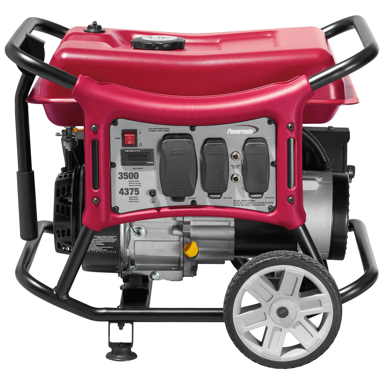 Powermate PC0143500 CX Series 3500W Portable Generator