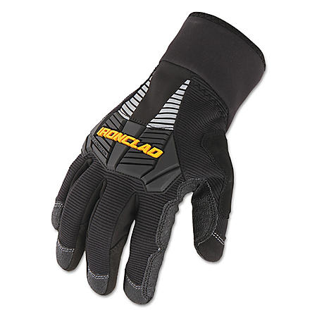 Ironclad Cold Condition Gloves, Black (Large)