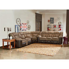Lane Furniture William 3-Piece Reclining Sectional Sofa