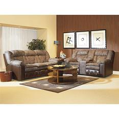 Lane Furniture William Double-Reclining Loveseat