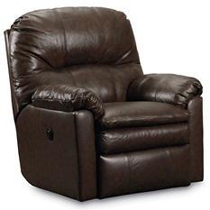 Lane Furniture Henry Top-Grain Leather Power Rocker Recliner